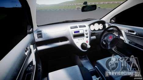 Honda Civic Type-R для GTA 4 вид справа