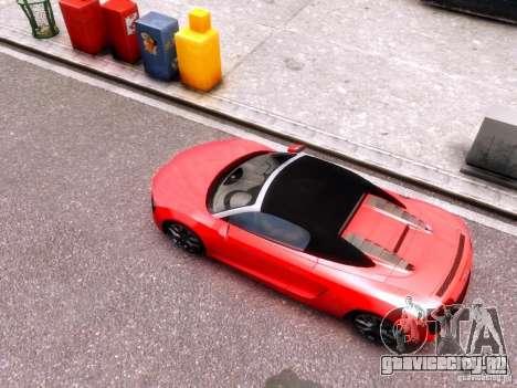 Audi R8 Spyder 5.2 FSI quattro V4 EPM для GTA 4 вид сзади