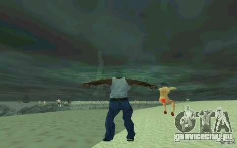 Люди умеют плавать для GTA San Andreas четвёртый скриншот