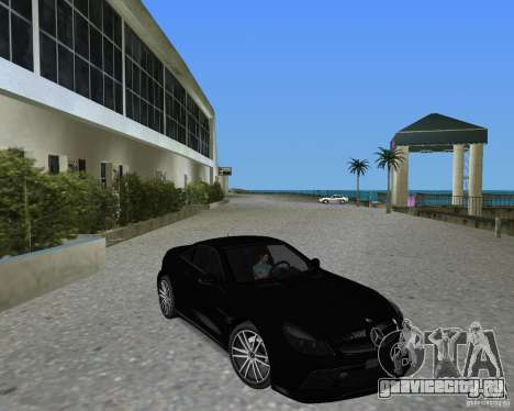 Mercedess Benz SL 65 AMG Black Series для GTA Vice City