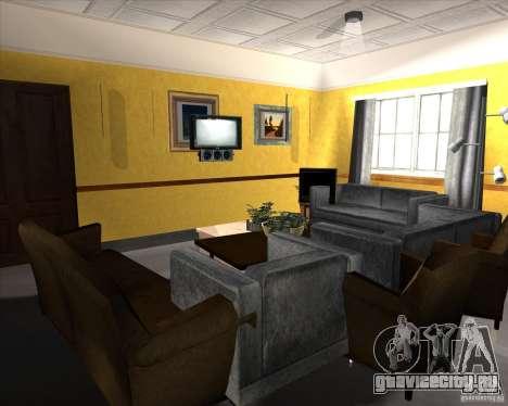 New Interior of CJs House для GTA San Andreas девятый скриншот