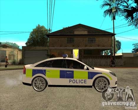 2005 Opel Vectra Police для GTA San Andreas вид справа