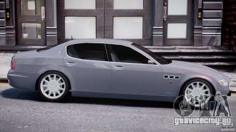 Maserati Quattroporte V для GTA 4 салон