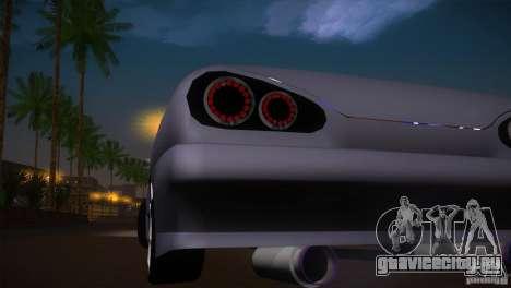Elegy Drift для GTA San Andreas вид изнутри