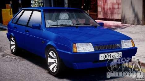 ВАЗ-21093i для GTA 4 вид слева