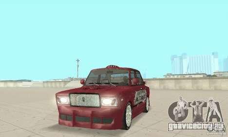 ВАЗ 2107 Ex Tuning для GTA San Andreas