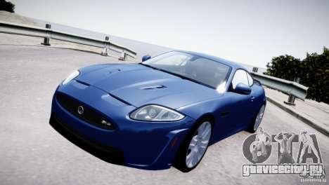 Jaguar XKR-S 2012 для GTA 4 вид справа