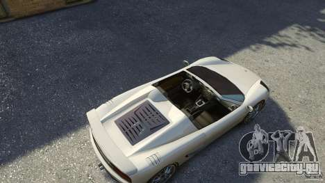Turismo Spider для GTA 4 вид справа
