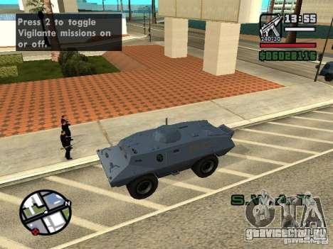 S.W.A.T. и FBI Truck ездят по улицам для GTA San Andreas пятый скриншот