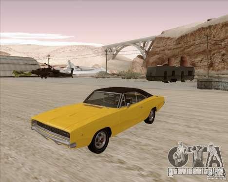 Dodge Charger RT 1968 Bullit clone для GTA San Andreas