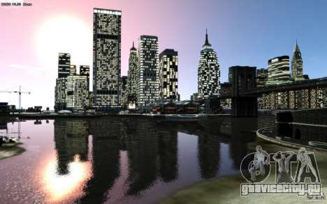 Меню и экраны загрузки Liberty City в GTA 4 для GTA San Andreas одинадцатый скриншот