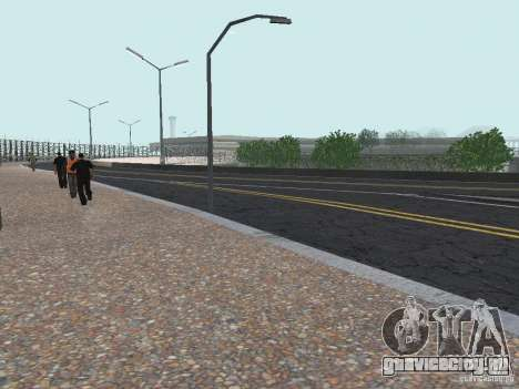 New Airport San Fierro для GTA San Andreas третий скриншот