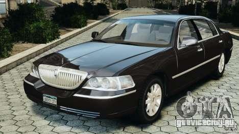 Lincoln Town Car 2006 v1.0 для GTA 4