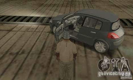 Renault Megane II 2005 для GTA San Andreas вид сзади