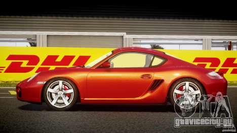 Porsche Cayman S v2 для GTA 4 вид слева