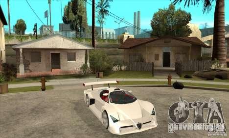 Alfa Romeo Tipo 33 GTI для GTA San Andreas вид сзади
