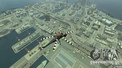 Liberty Sky-lift для GTA 4 вид сбоку