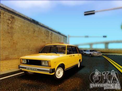 ВАЗ 2104 Такси для GTA San Andreas