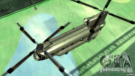 CH-47 для GTA 4 вид сзади
