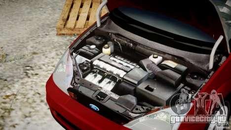 Ford Focus SVT для GTA 4 вид сверху