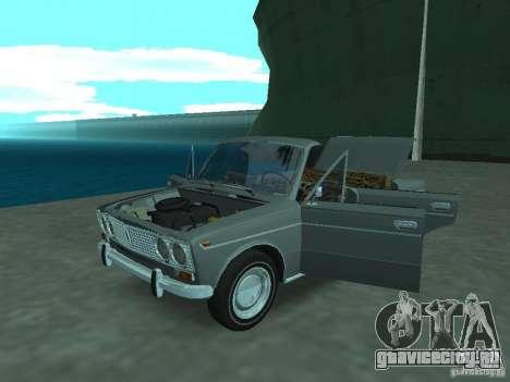 ВАЗ 2103 Cabrio для GTA San Andreas вид сзади