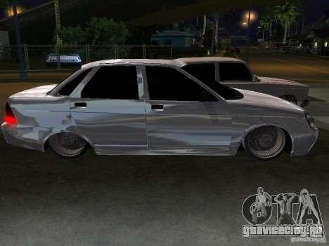 Lada Priora Dag Style для GTA San Andreas вид снизу