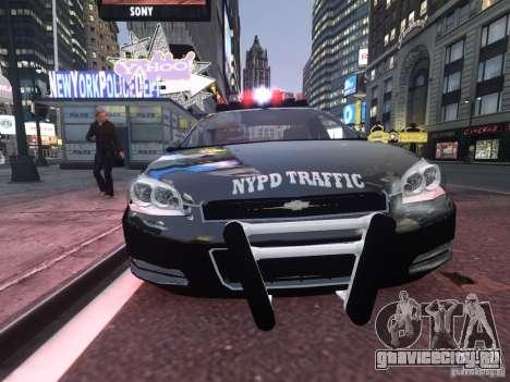 Chevrolet Impala 2006 NYPD Traffic для GTA 4 вид слева