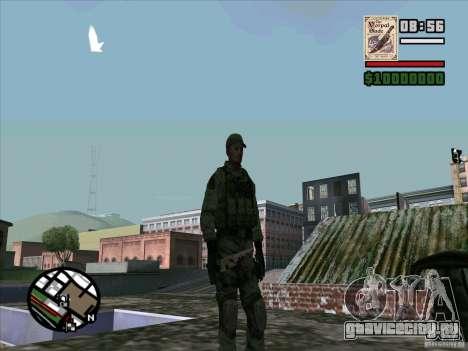 Dave из Resident Evil для GTA San Andreas четвёртый скриншот