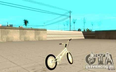 Trail Bike Chrome для GTA San Andreas вид сзади слева