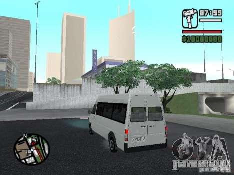 Volkswagen LT 35 Пассажирсикй для GTA San Andreas вид справа