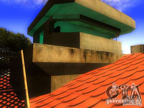 База Гроув стрит для GTA San Andreas девятый скриншот