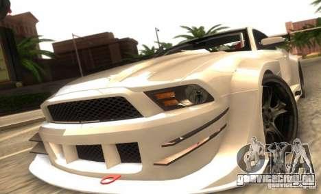 Ford Mustang Shelby GT500 V1.0 для GTA San Andreas вид слева