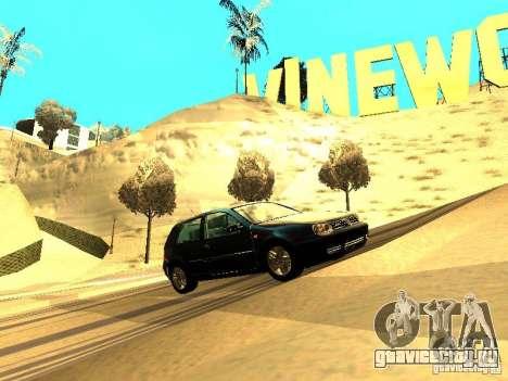 Volkswagen Golf 4 GTI для GTA San Andreas