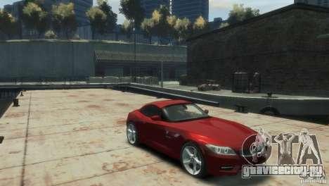 BMW Z4 для GTA 4 вид справа