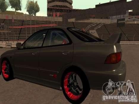 Honda Integra TypeR для GTA San Andreas вид справа
