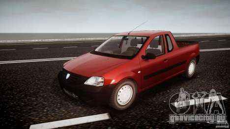 Dacia Logan Pick-up ELIA tuned для GTA 4