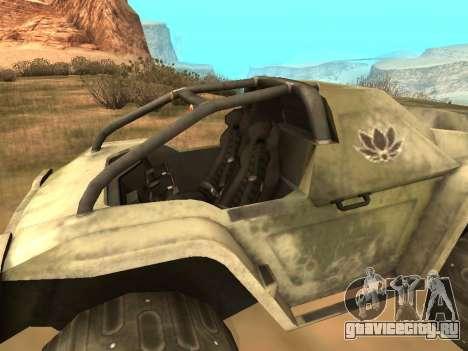 УАЗ-8 Оцелот для GTA San Andreas вид сзади слева