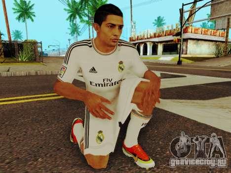 Криштиану Роналду v1 для GTA San Andreas пятый скриншот