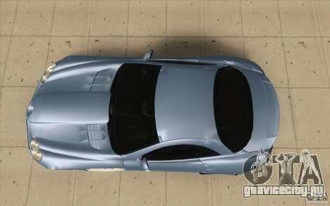 Mercedes-Benz SLR McLaren 2005 для GTA San Andreas вид справа