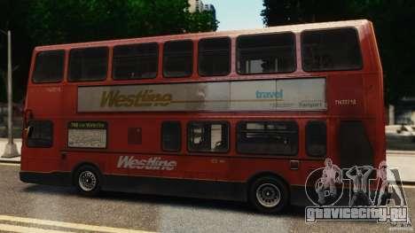 London City Bus для GTA 4 вид слева