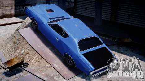 Dodge Charger RT 1971 v1.0 для GTA 4