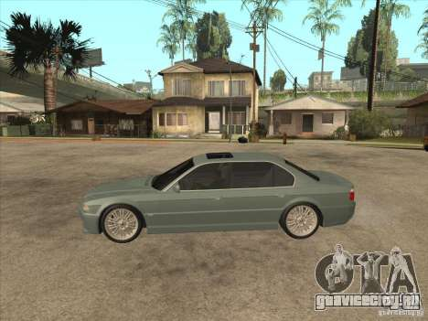 BMW E38 M7 для GTA San Andreas вид слева