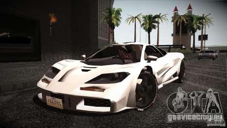 McLaren F1 LM для GTA San Andreas