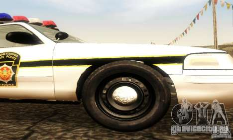 Ford Crown Victoria Pennsylvania Police для GTA San Andreas вид справа