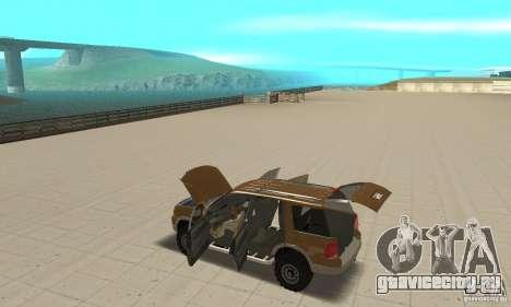 Ford Explorer 2002 для GTA San Andreas вид сверху