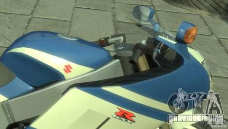 NRG900 to Suzuki GSX-R для GTA 4 вид слева