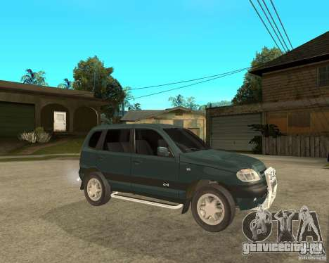 NIVA Chevrolet для GTA San Andreas вид справа