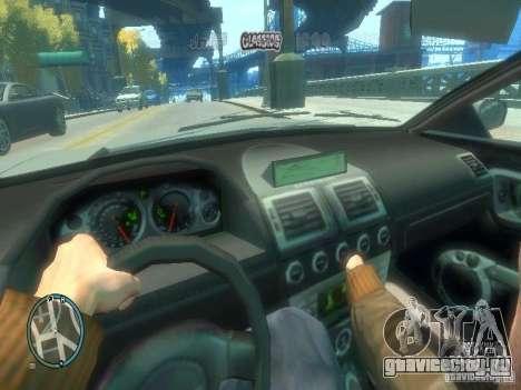 Вид из авто для GTA 4 третий скриншот