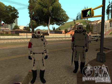 Cops from Half-life 2 для GTA San Andreas четвёртый скриншот