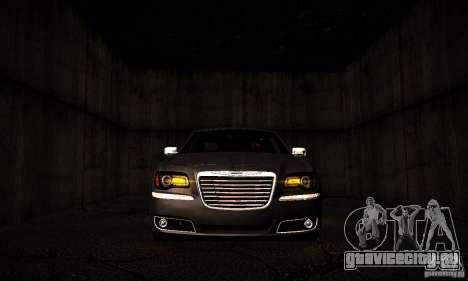 Chrysler 300c для GTA San Andreas вид изнутри